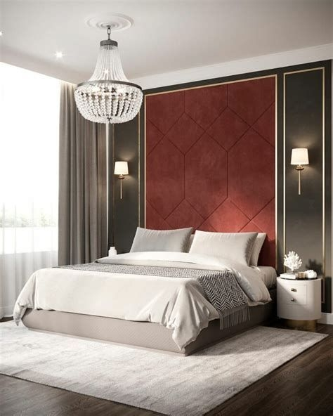 Awesome Burgundy And Grey Bedroom Ideas 39