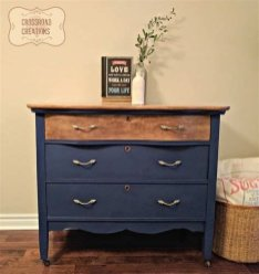 Cool Navy Painted Bedroom Furniture Ideas 04
