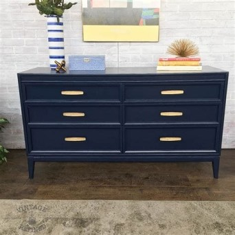 Cool Navy Painted Bedroom Furniture Ideas 06
