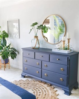 Cool Navy Painted Bedroom Furniture Ideas 07