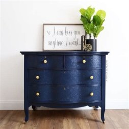 Cool Navy Painted Bedroom Furniture Ideas 12