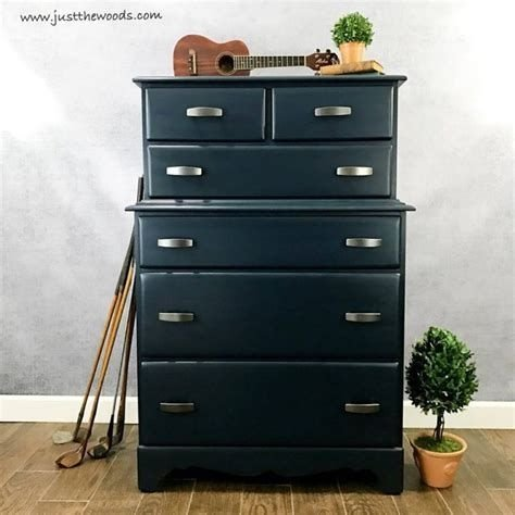 Cool Navy Painted Bedroom Furniture Ideas 14