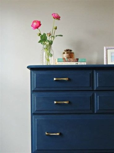 Cool Navy Painted Bedroom Furniture Ideas 23