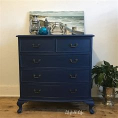 Cool Navy Painted Bedroom Furniture Ideas 29