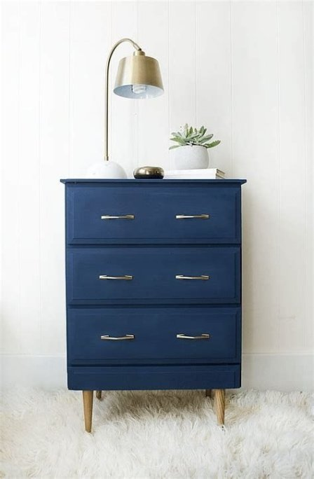 Cool Navy Painted Bedroom Furniture Ideas 35
