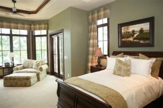 Creative Sage Green Accent Wall Bedroom Ideas 02