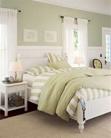 Creative Sage Green Accent Wall Bedroom Ideas 24