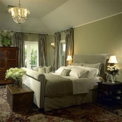 Creative Sage Green Accent Wall Bedroom Ideas 26