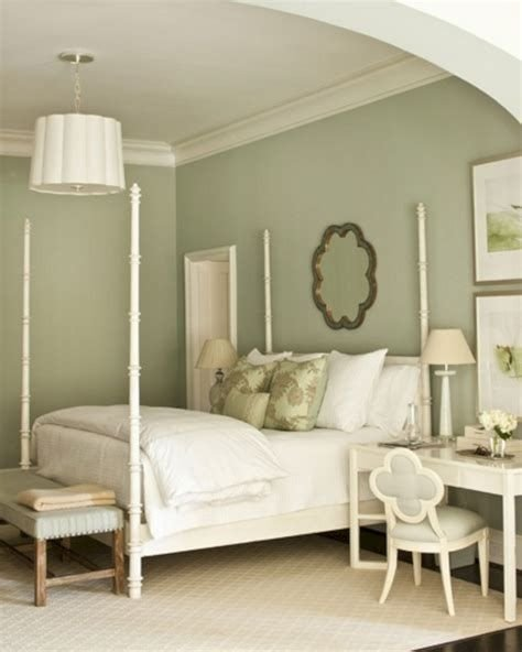 Creative Sage Green Accent Wall Bedroom Ideas 43