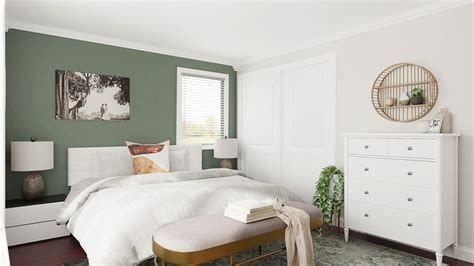 Creative Sage Green Accent Wall Bedroom Ideas 44