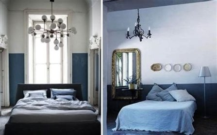 Lovely Two Tone Bedroom Paint Ideas 02