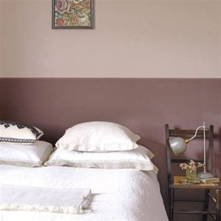 Lovely Two Tone Bedroom Paint Ideas 04