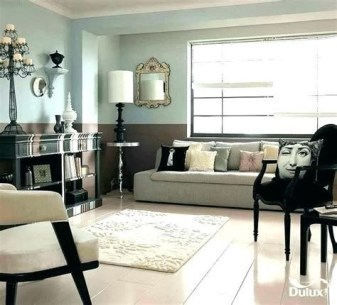 Lovely Two Tone Bedroom Paint Ideas 11