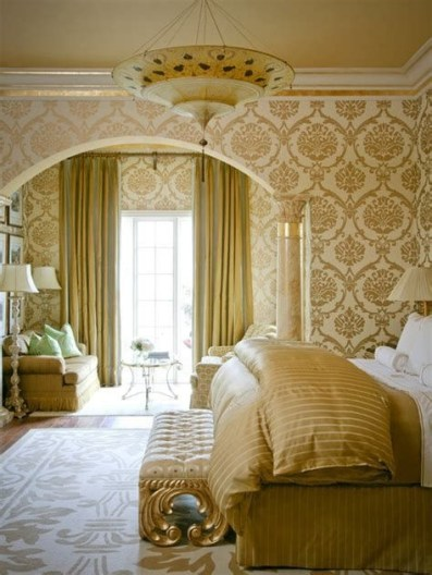 Totally Comfy White And Gold Themed Bedroom Ideas 14