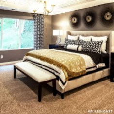 Totally Comfy White And Gold Themed Bedroom Ideas 22