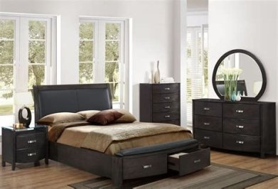 Totally Cute Charcoal Grey Bedroom Set Ideas 04