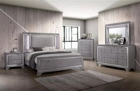 Totally Cute Charcoal Grey Bedroom Set Ideas 08
