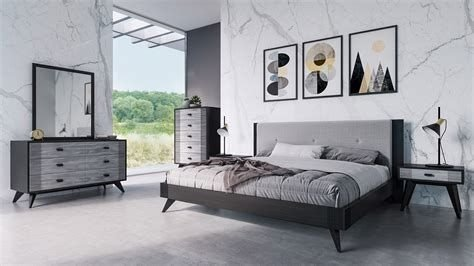 Totally Cute Charcoal Grey Bedroom Set Ideas 12
