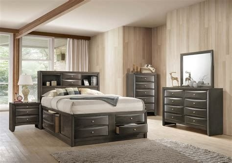 Totally Cute Charcoal Grey Bedroom Set Ideas 20