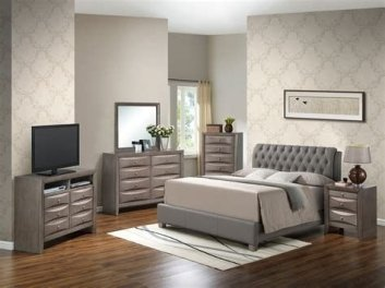 Totally Cute Charcoal Grey Bedroom Set Ideas 28