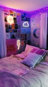Amazing Aesthetic Rooms With Led Lights Ideas 11
