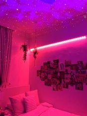 Amazing Aesthetic Rooms With Led Lights Ideas 37
