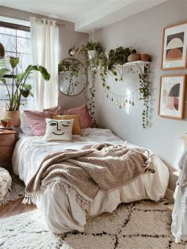 Cool Aesthetic Bedroom Background Ideas 40