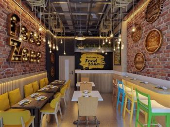 Lovely Low Budget Small Restaurant Design Ideas 05