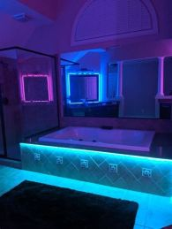 Most Popular Aesthetic Room With Led Lights Ideas 23