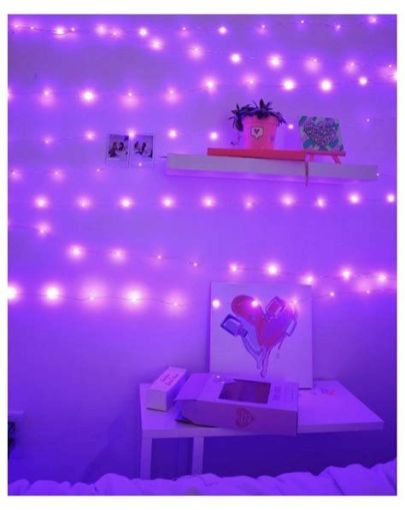 Most Popular Aesthetic Room With Led Lights Ideas 34