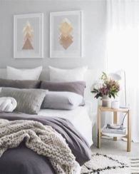 Awesome Grey And White Bedroom Ideas 02