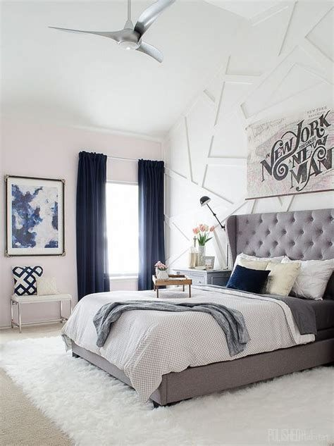 Awesome Grey And White Bedroom Ideas 19