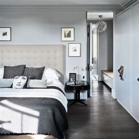 Awesome Grey And White Bedroom Ideas 29