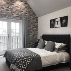 Awesome Grey And White Bedroom Ideas 34