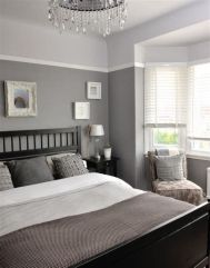 Awesome Grey And White Bedroom Ideas 36