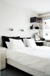 Totally Cute Black And White Room Aesthetic Ideas 10