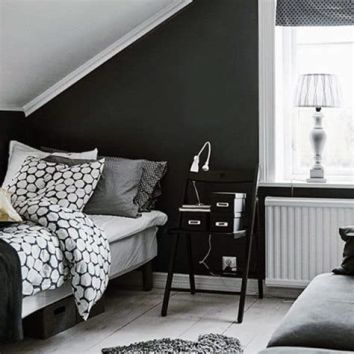 Totally Cute Black And White Room Aesthetic Ideas 17