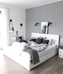 Totally Cute Black And White Room Aesthetic Ideas 36