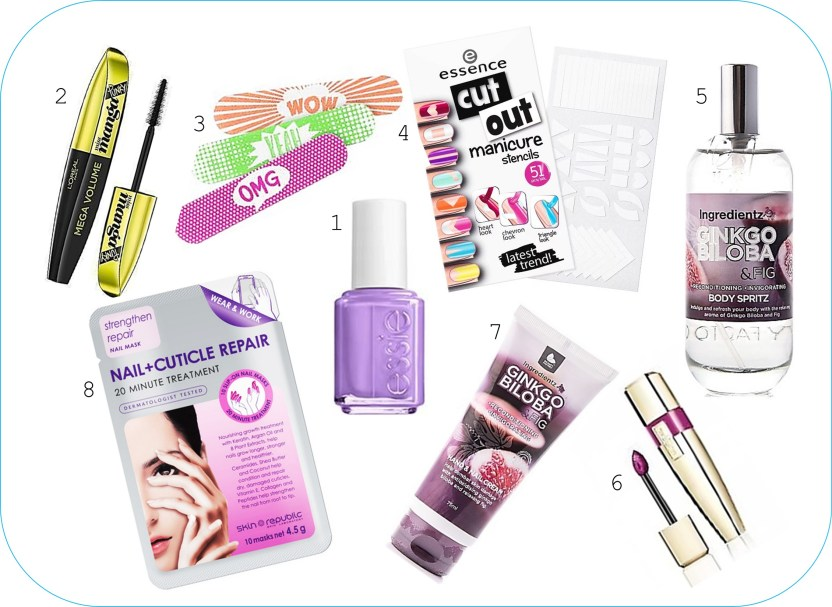 Clueless Beauty Box products