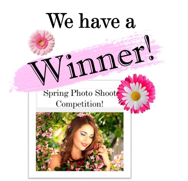 Lucky Winner of our Spring Photo Shoot Competition, a collaboration with EV Art Productions!