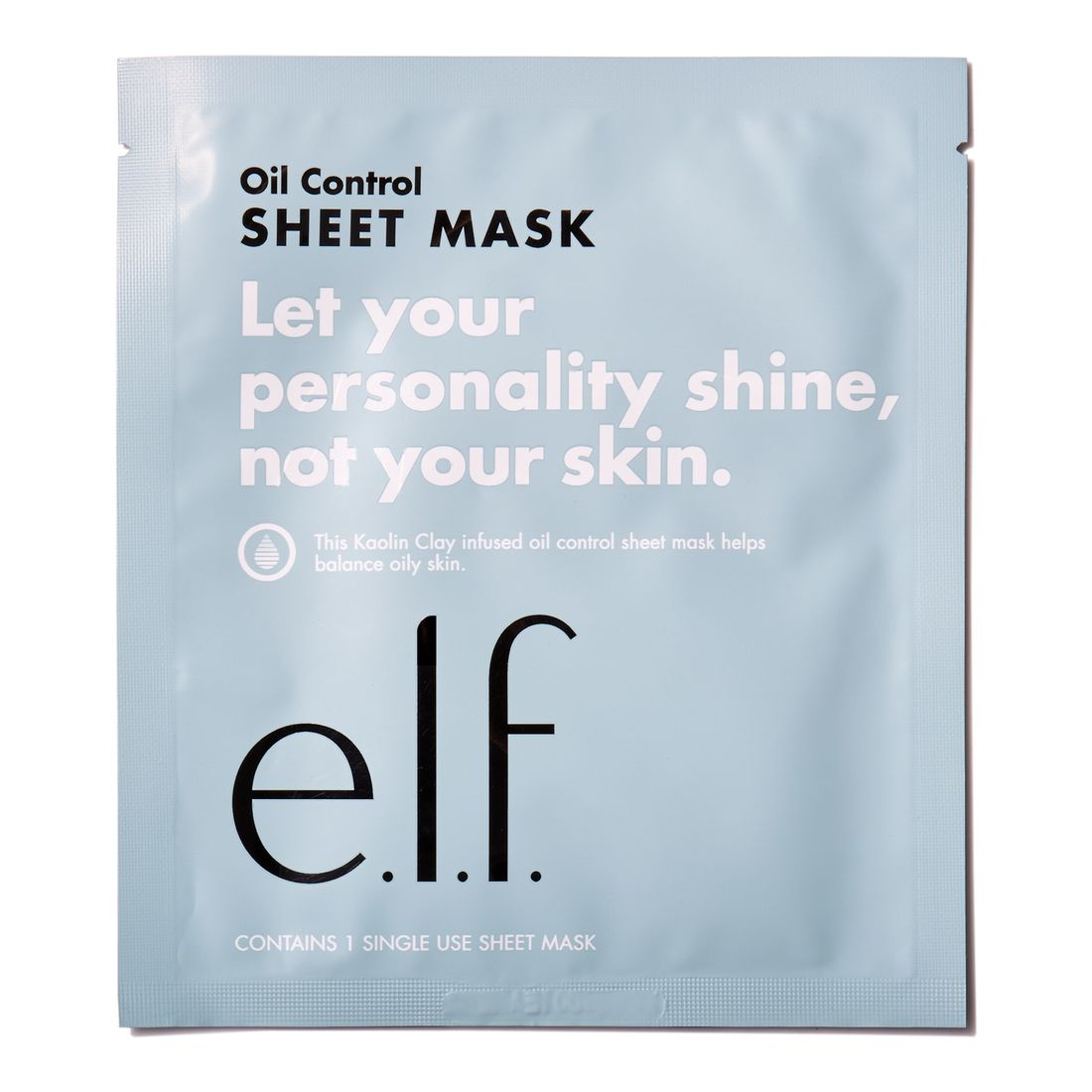 E.L.F OIL CONTROL SHEET MASK