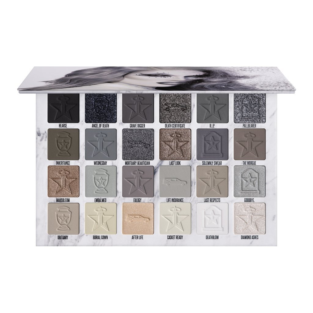 JEFFREE STAR - CREMATED EYESHADOW PALETTE