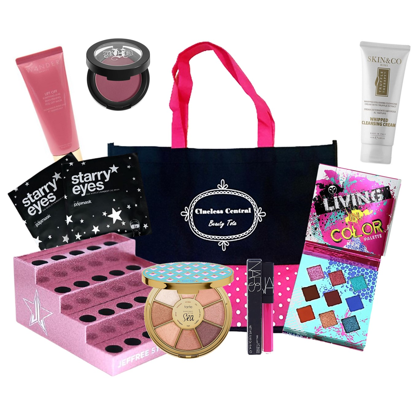 Clueless Central Beauty Tote - Introductory