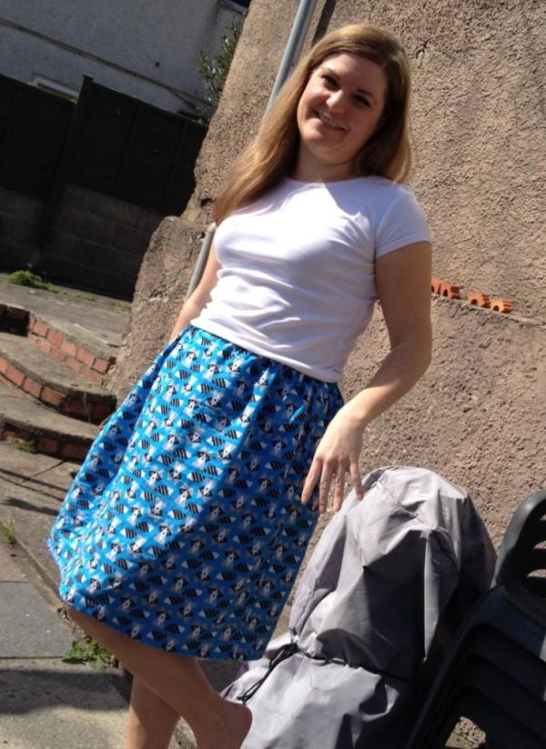Racoon skirt