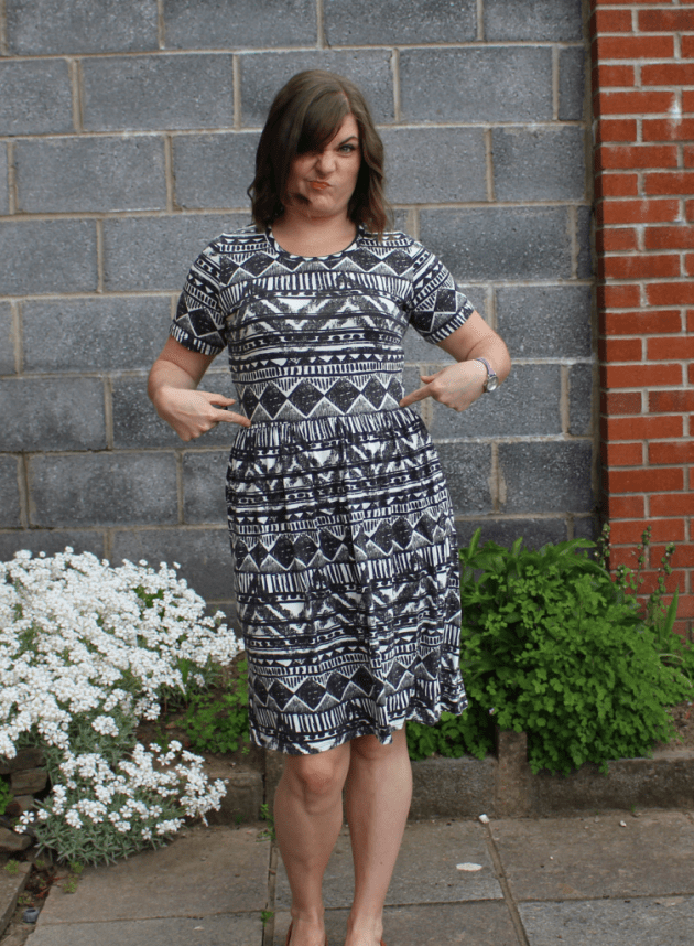 Dixie DIY ballet dress seam