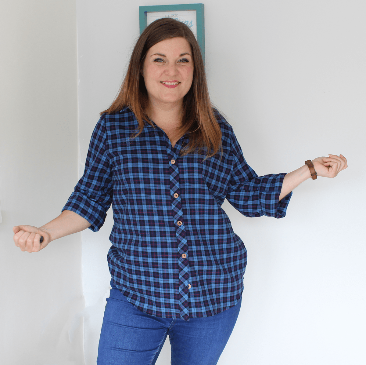 Grainline Archer button up shirt