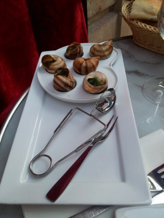 Escargot for the carnivorous types.