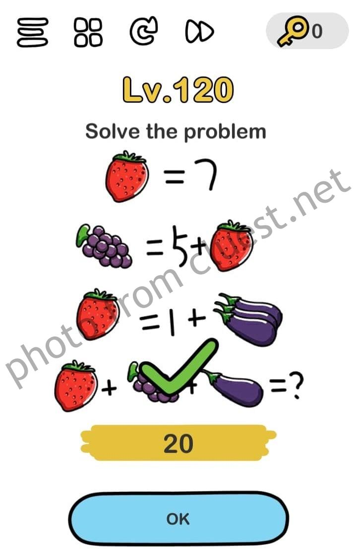 Brain Out Level 120 : brain, level, Solve, Problem, Brain, Level, CLUEST
