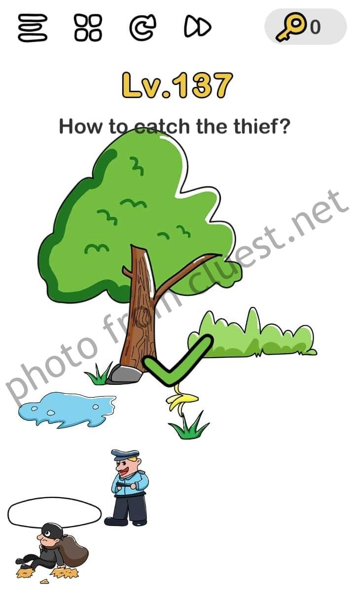 Brain Out Level 160 : brain, level, Catch, Thief, Brain, CLUEST