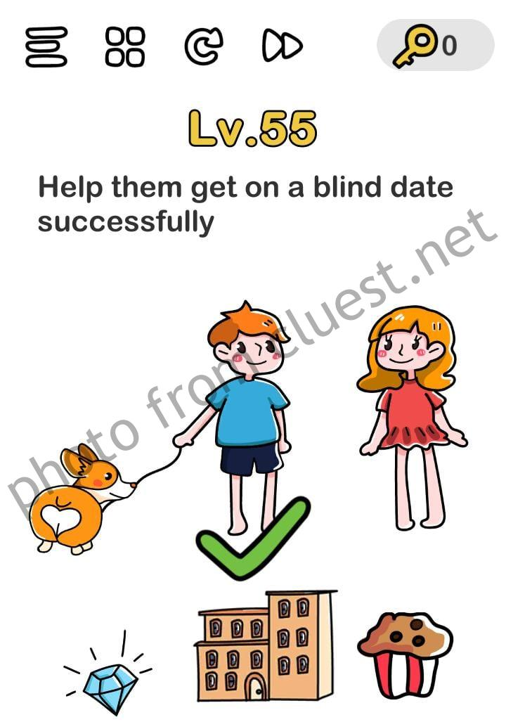 Brain Out Level 55 : brain, level, Brain, Level, Blind, Successfully, Answers, Solutions, CLUEST